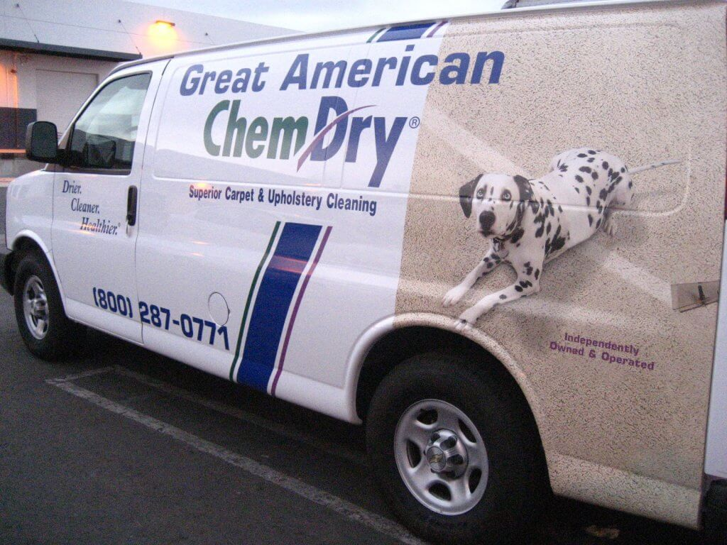 Great American Chem-Dry Van
